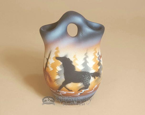 Native American Navajo Wedding Vase -Born Free