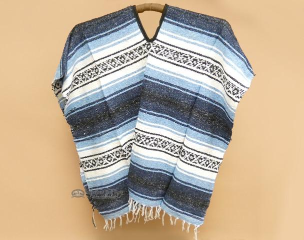 Mexican Falsa Blanket Poncho