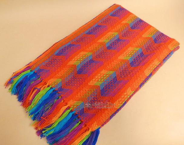 Colorful Alpaca Blanket 64x80
