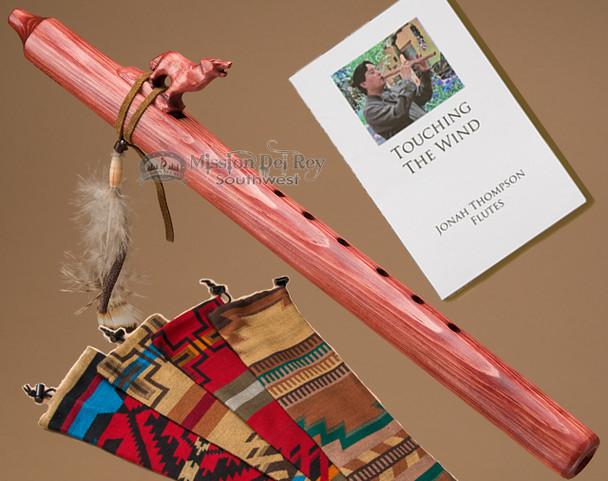 Native Jonah Thompson Flute & Bag -Cherry Wolf
