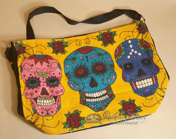 Southwestern Day of the Dead Purse - Skulls