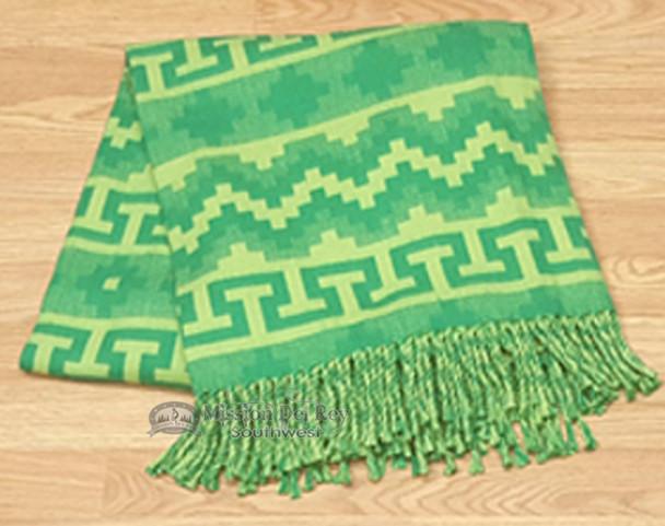 Southwestern Genuine Alpaca Throw Blanket