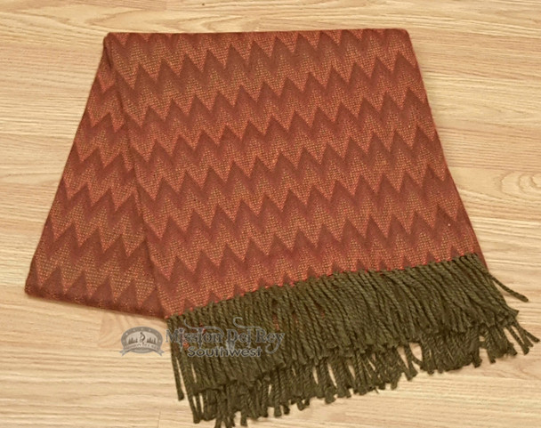 Genuine Alpaca Throw Blanket