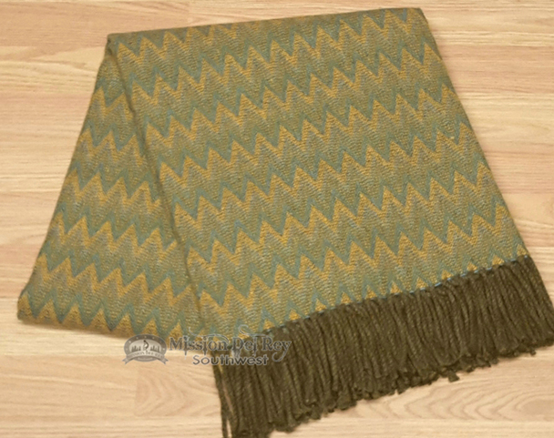 Genuine Hand Woven Alpaca Throw Blanket
