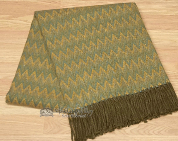 Genuine Hand Woven Alpaca Throw Blanket