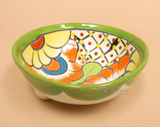 Mexican Hand Painted Bowl -Talavera