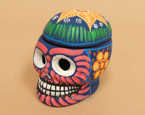 """Day of the Dead Deer Head-Sugar Skull Painted-Wall Mounted 22.5/"""" Tall Home Decor"""