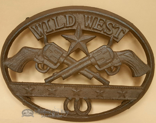 Southwestern Metal Art Trivet -Wild West Texas Star