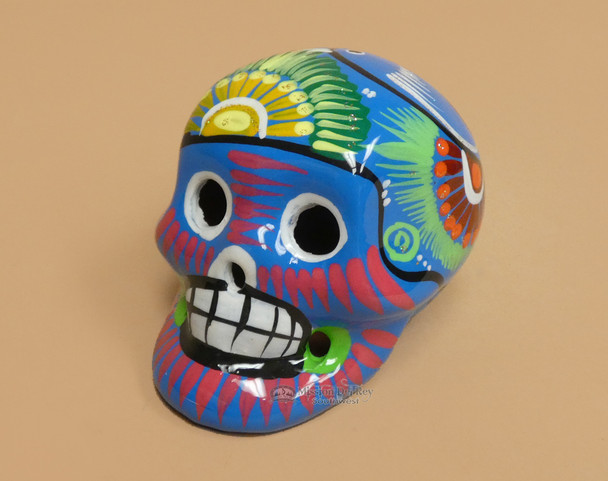 Southwest Mexican Day of the Dead Skull