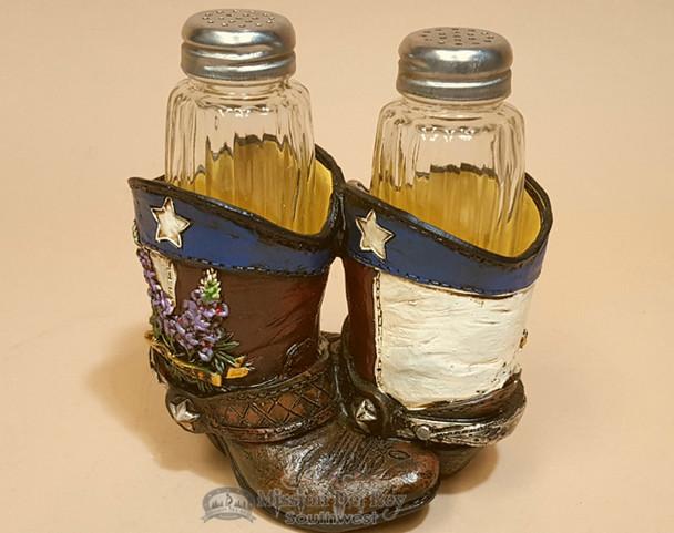 Southwestern Salt & Pepper Shakers -Boots & Bonnets