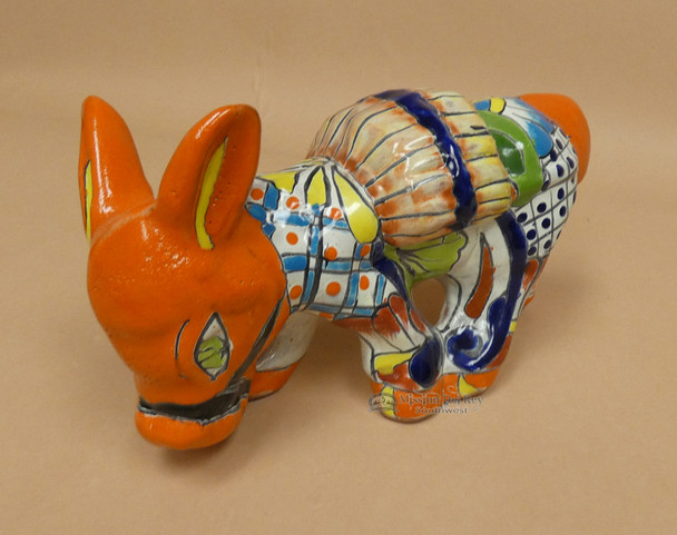 Southwestern Hand Painted Talavera Burro
