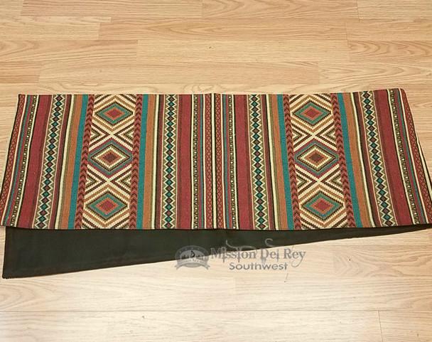 Southwestern tapestry woven table runner -Borrego