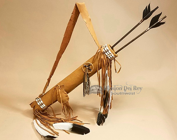 Choker Quiver with Arrows Set -Saddle