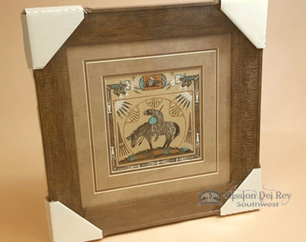 Large Wall Art - Native American Sand Painting