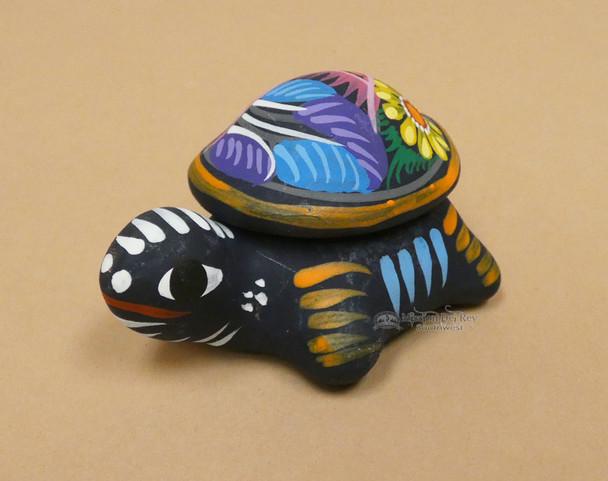 Rustic Pottery Turtle Jewelry Box (p54)