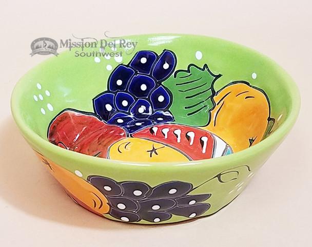 Hand Painted Mexican Ceramic Talavera Bowl