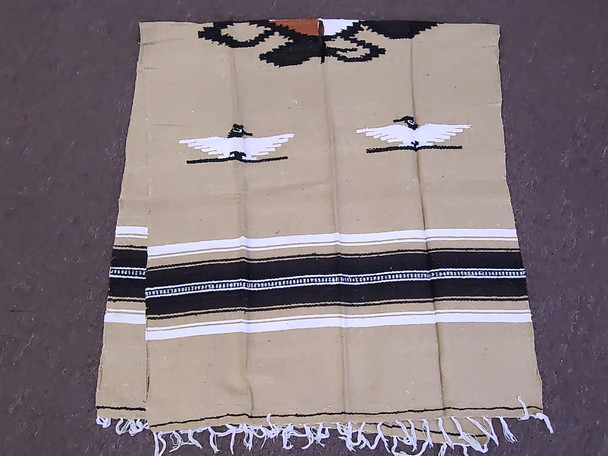 Mexican Style Blanket Poncho