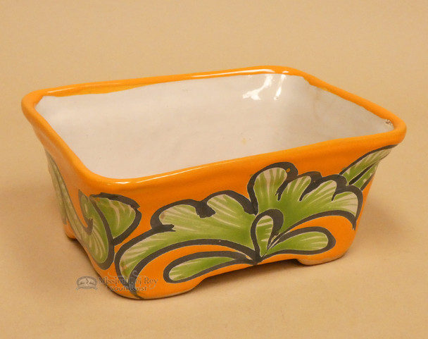 Hand Painted Mexican Talvera Bowl