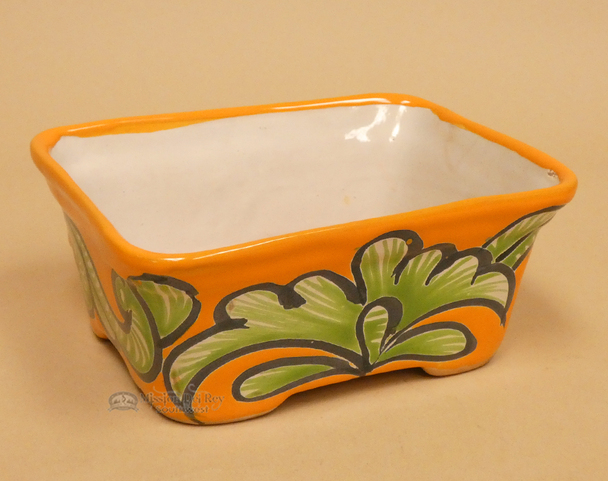 Hand Painted Mexican Talvera Bowl
