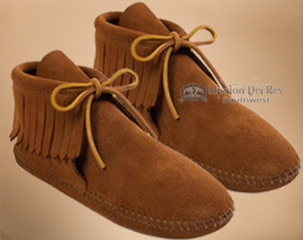 Men's Classic Fringed Boot Moccasin