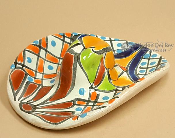 Hand Painted Mexican Talavera Sombrero