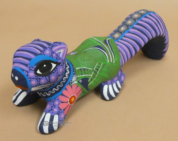 Day of the Dead - Alebrije Hand Painted Mexican Clay Squirrel
