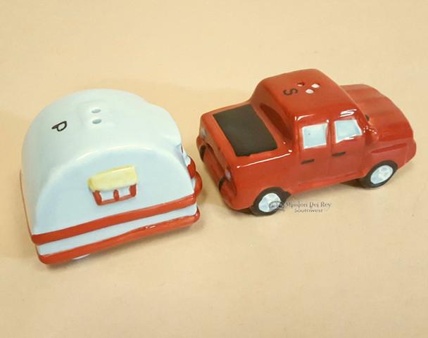 Truck & Camper Salt & Pepper Set