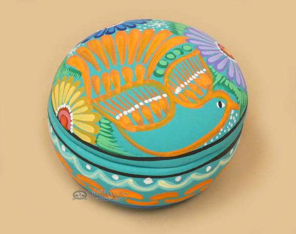 Hand Painted Southwestern Jewelry Box