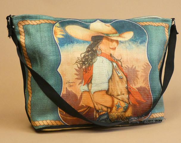 Cowgirl Western Art Purse -Charlie