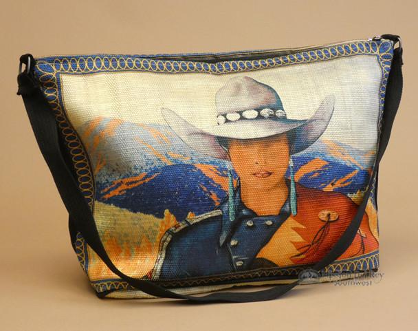 Southwestern Art Cowgirl Purse -Laura