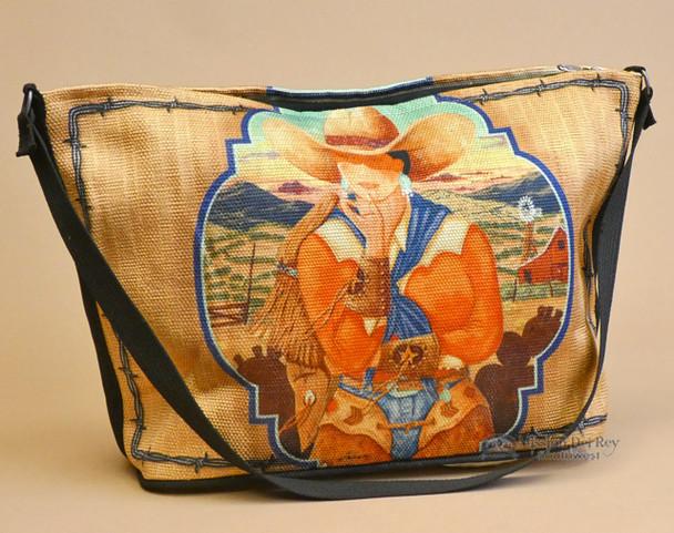 Western Cowgirl Art Purse -Dallas
