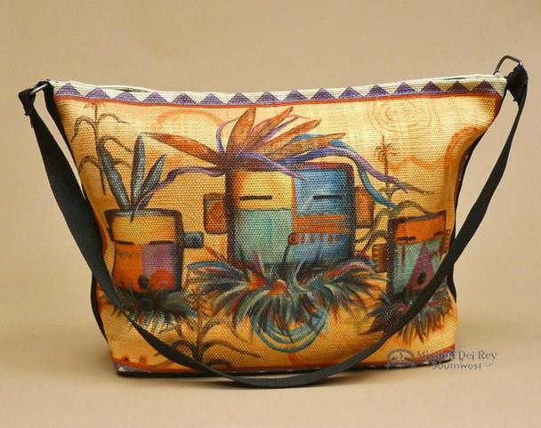 Southwestern Native Art Purse -Kachinas