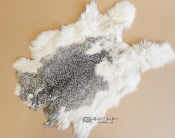 Soft Genuine Rabbit Pelts  - Multi-color