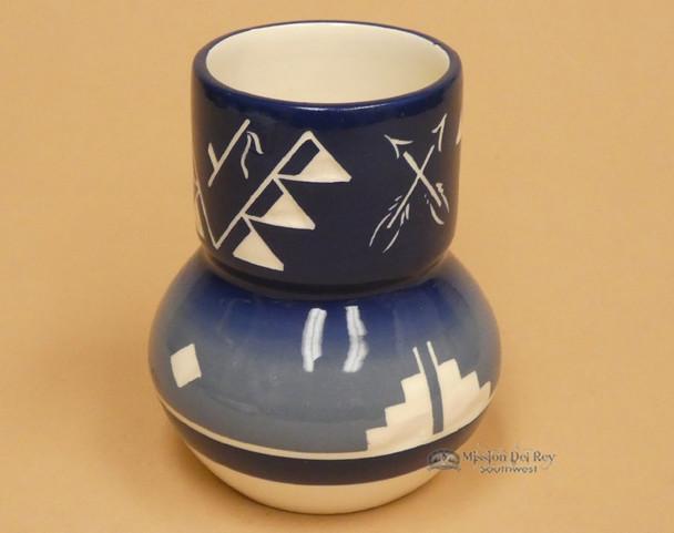 Glazed Lakota Sioux Spirit Vase