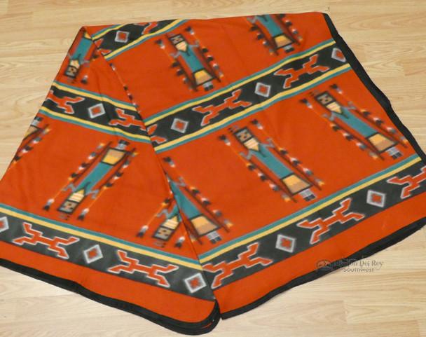 Soft Lodge Blanket - Red