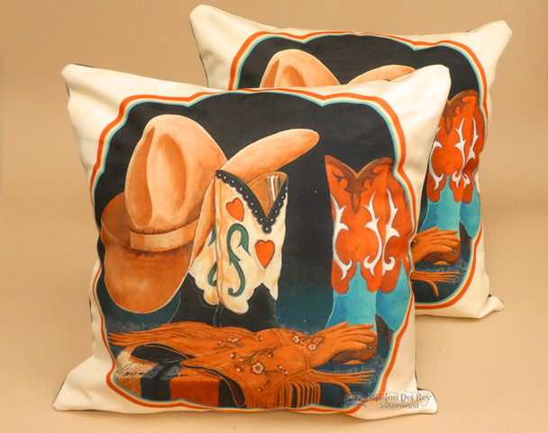Pair of Western Pillow Covers - Cowgirl Boutique