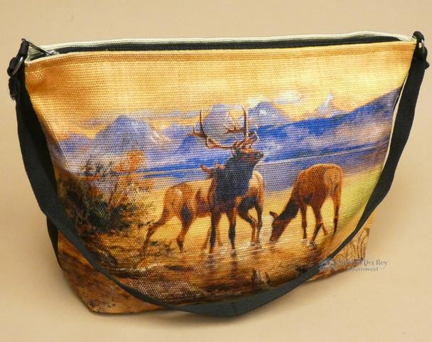 Southwestern Native Art Purse -Elk