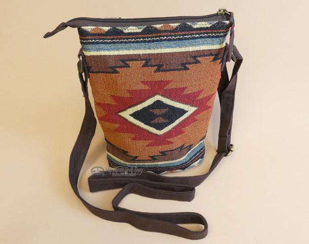 Southwestern Woven Crossbody Bag
