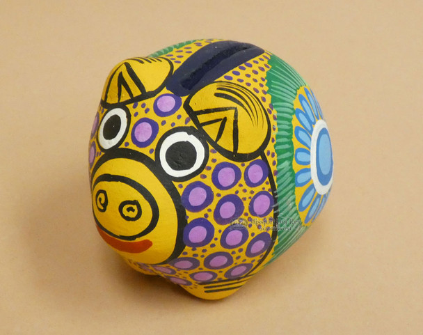 Day Of The Dead Piggy Bank (pg1)