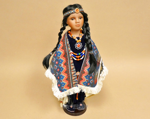 Designer Indian Collector Doll & Stand