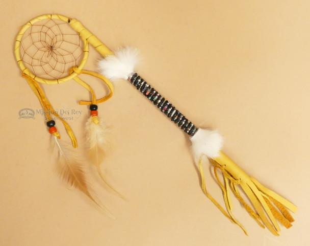 "Native American Beaded Medicine Talking Stick 12"""