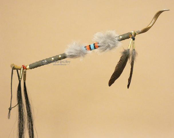 Native American Tigua Talking Stick