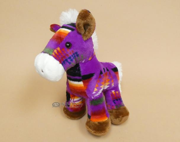 Soft Purple Pony Plush