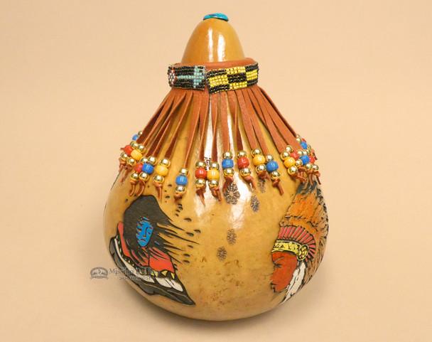 Native American Creek Decorative Rattle