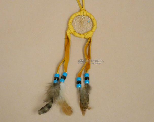 "Navajo Dream Catcher 2"" - Gold"