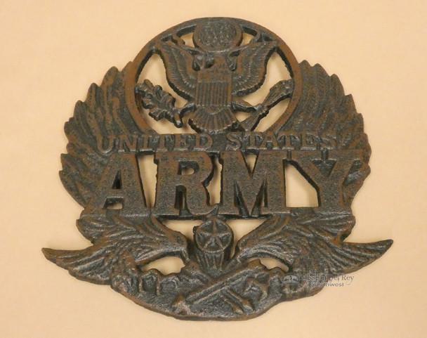 Rustic Metal Army Trivet
