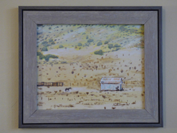 Original western art painting by artist Keith Skaggs
