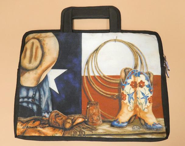 Western Cowboy Print Bag - Texas