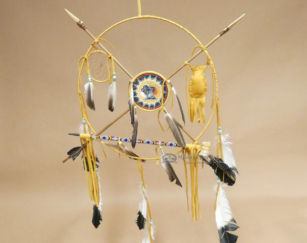 """18"""" Navajo Medicine Wheel - Buffalo"""