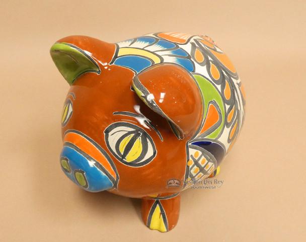 Hand Painted Talavera Pig